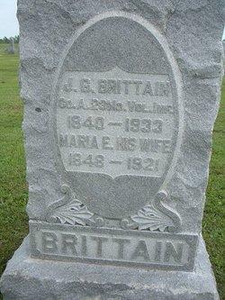 Maria Ella <I>Brown</I> Brittain