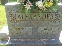 Florence <I>Wilburn</I> Alexander