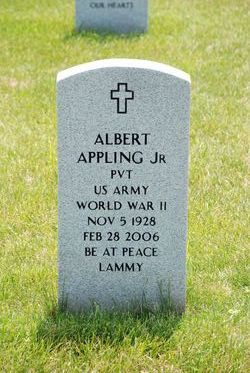 Pvt Albert Appling, Jr