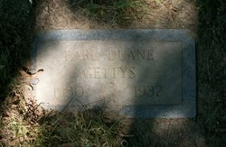 Earl Duane Gettys