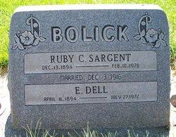 Ruby Chloe <I>Sargent</I> Bolick
