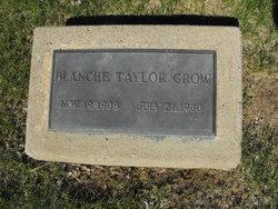Blanche <I>Taylor</I> Grow