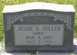 """Jessie S """"Jake"""" Zeller"""