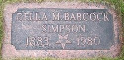 Della <I>Babcock</I> Simpson