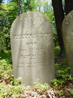 Hannah <I>Little</I> Burnham