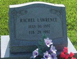 Rachel O <I>Evans</I> Lawrence