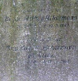 Arthur Ackermann