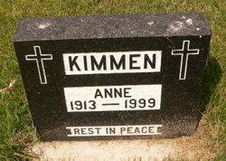Anne <I>Wesslowski</I> Kimmen