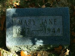 Mary Jane <I>Hopkins</I> Brown