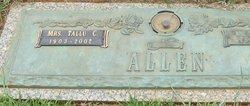 Tallu James <I>Crumley</I> Allen