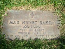 Max Henry Baker