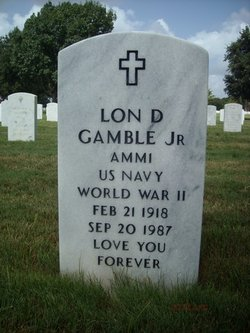 Lon D Gamble, Jr