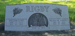 Blanche <I>Barnes</I> Rigby