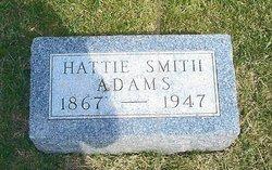 Hattie May <I>Smith</I> Adams