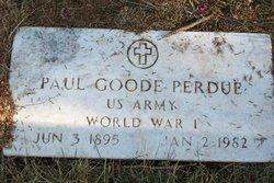 Paul Goode Perdue