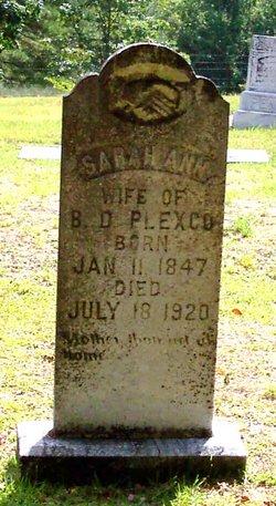 Sarah Ann Plexco
