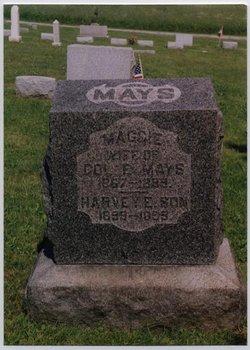 "Margaret E. ""Maggie"" <I>McFeeters</I> Mays"