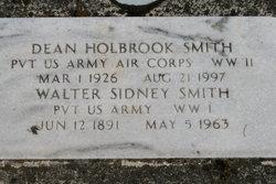 Pvt Dean Holbrook Smith