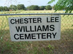 Chester Lee Williams Cemetery
