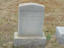 Elizabeth <I>Madison</I> Norford