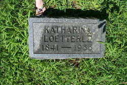 "Katrina ""Katherine"" <I>Suger</I> Loetterle"