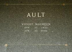 Violet Maureen <I>Lee</I> Ault