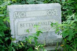 "Myrtle E ""Betty"" <I>Smith</I> Blakely"