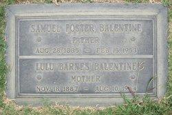 Samuel Foster Balentine