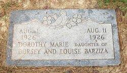 Dorothy Marie Barziza