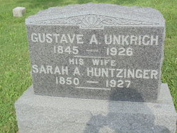 Sarah Arabella <I>Huntzinger</I> Unkrich