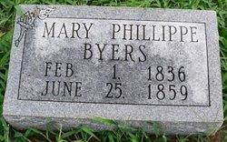Mary <I>Phillippe</I> Byers