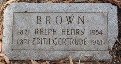 Edith Gertrude Brown