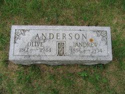 Olive <I>Olson</I> Anderson