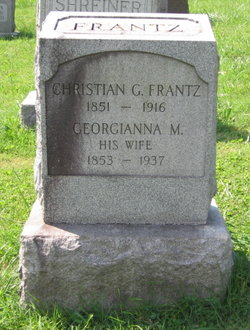 "Georgianna M ""Georgia"" <I>Myers</I> Frantz"