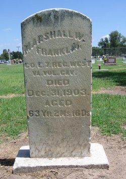 Pvt Marshall W. Franklin