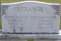 Laura Gertrude <I>Futrelle</I> Strange