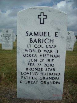 Samuel E Barich