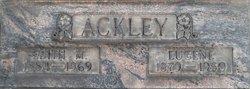 Edith May <I>Elliott</I> Ackley
