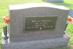 PFC Ray Whitley