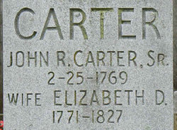 John Rhea Carter Sr.