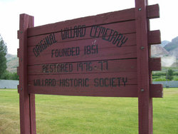 Willard Pioneer Cemetery