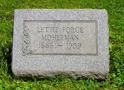 Lettie Mae <I>Force</I> Moherman