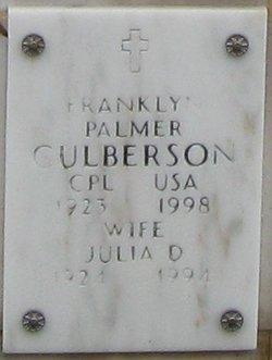 Franklyn Palmer Culberson