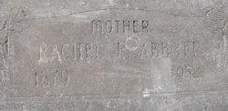 Rachel Emeline <I>Williams</I> Abbott