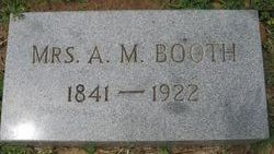 Mrs A M Booth