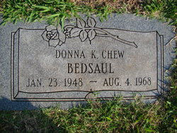 Donna K <I>Chew</I> Bedsaul
