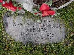 Nancy C. <I>Dedeaux</I> Kennon
