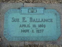 Sue <I>Etheridge</I> Ballance