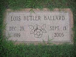 Lois <I>Butler</I> Ballard