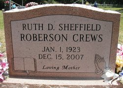 Ruth Delene <I>Sheffield</I> Crews